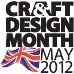 Craft & Design Month May 2012 Logo
