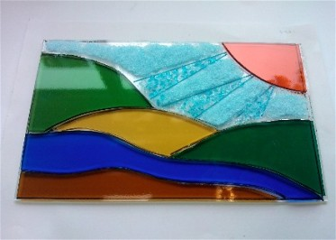 Students Glasswork