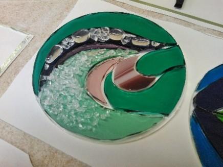 Students Glasswork Light-catcher