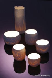 Monika Mihalyfi 'Glowing Vessels'
