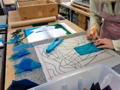 Student Project - Cutting Glass to Pattern