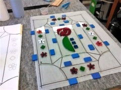 Students Project - Cutting Glass