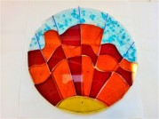 Students Glasswork Bowl