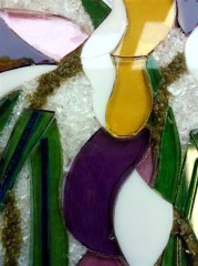 Students Glasswork Panel