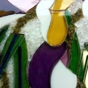 Students Glasswork Panel