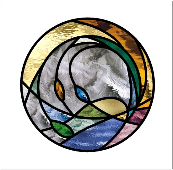 stained glass circular window  u2013 transparent glass studio