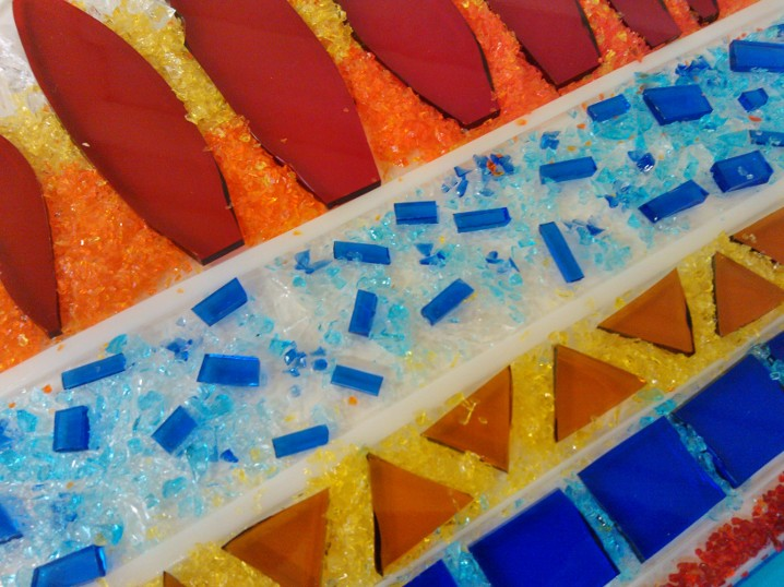 how to make fused glass at home