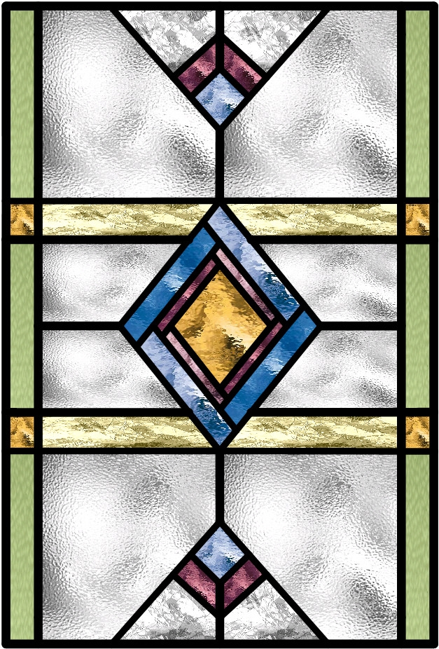 art deco stained glass window  u2013 transparent glass studio