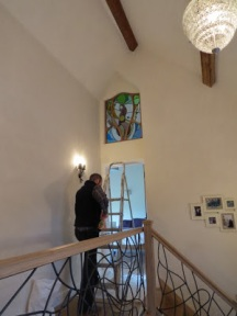 jamie Hubbard Gaudi Antoni inspired window panel Paul floyd (1)