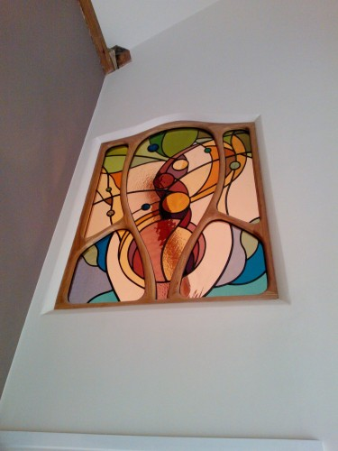 Web Copyright Paul Floyd Stained Glass 'Barn Conversion' 01