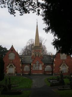 Rear of Chapels