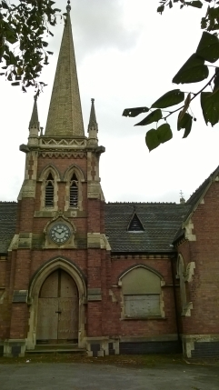 Front of Chapels