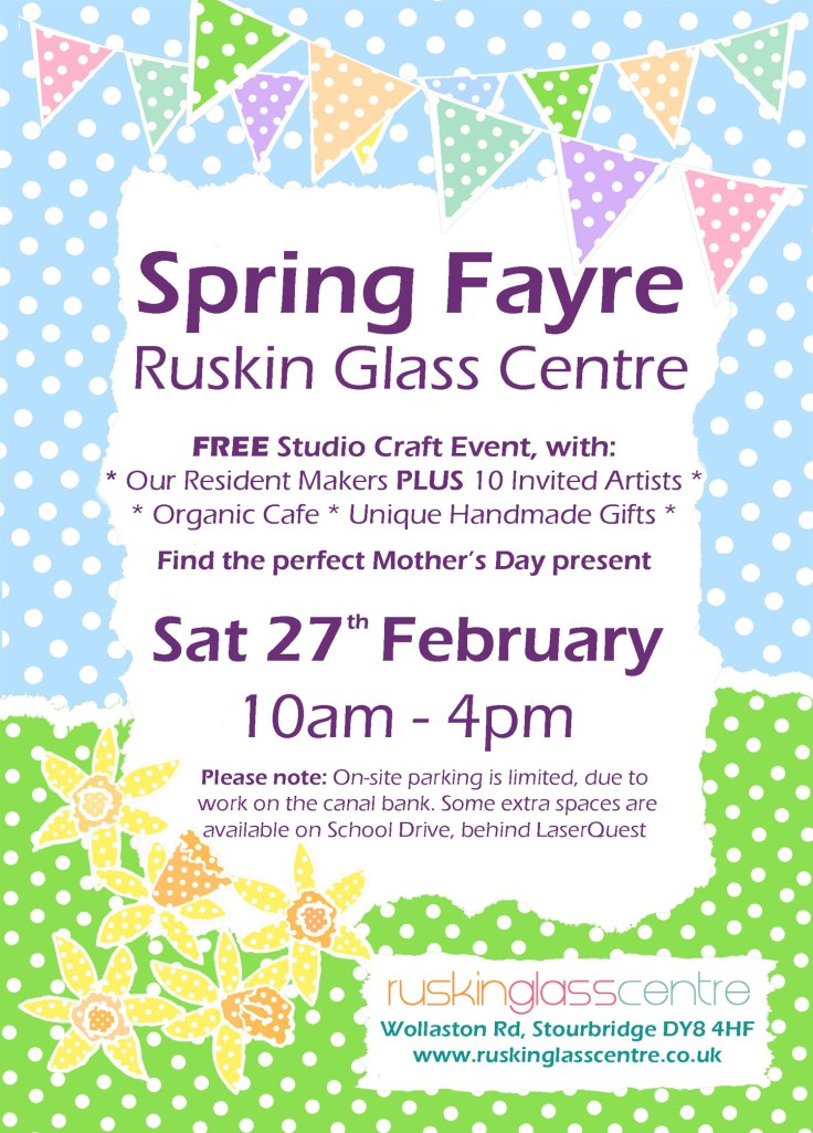 RGC Spring Craft Fayre 2016