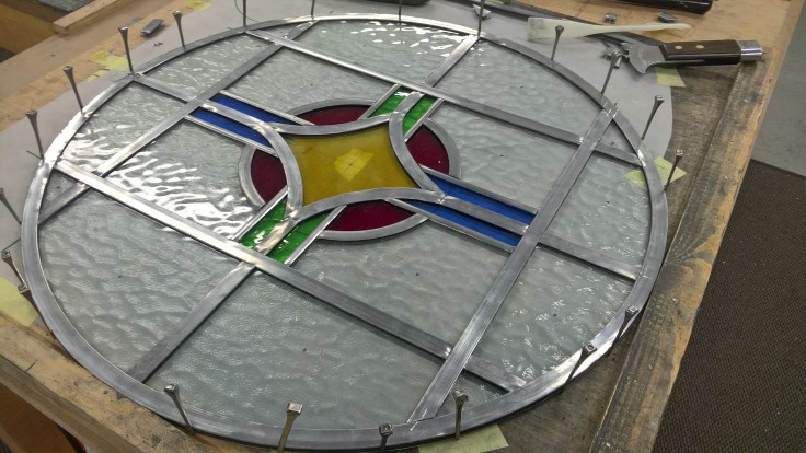 Transparent Glass Studio Stained Glass Window 01 Copyright 2016