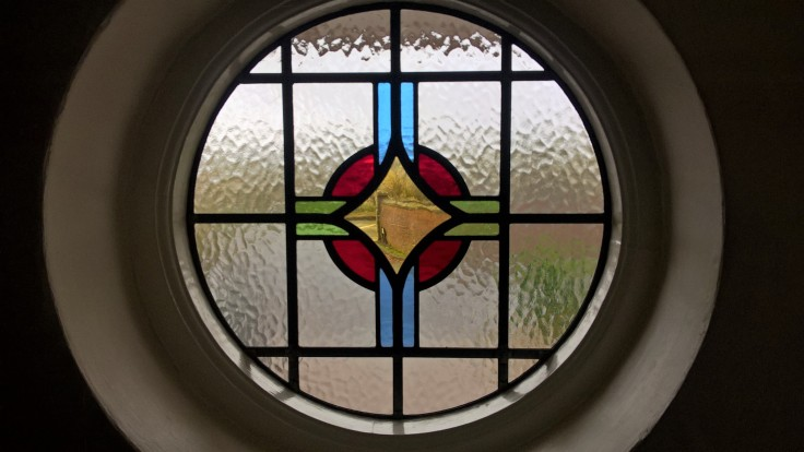 Transparent Glass Studio Stained Glass Window 03 Copyright 2016