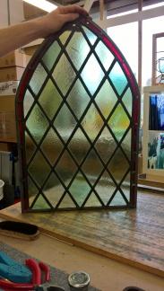 Transparent Glass Studio - Stained Glass Restoration - Church Window (17)