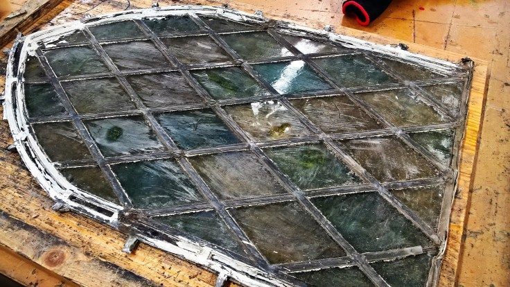 Transparent Glass Studio - Stained Glass Restoration - Church Window (5)