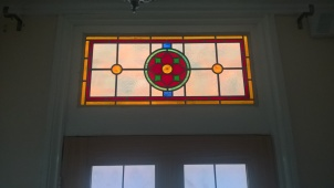 Transparent Glass Studio - Stained Glass Transom Window Pattern 01