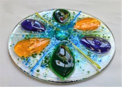 Students Fused Glass Light-catcher