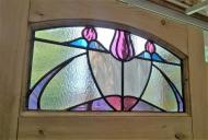 Edwardian Stained Glass Door Panel - New Panel Period Design