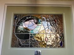 Transparent Glass Studio - Stained Glass Door Panels Arts & Crafts (8)